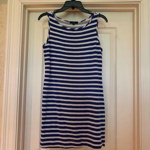 Tart blue& white tank dress